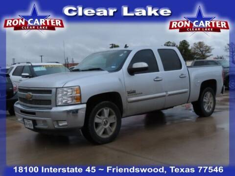 2013 Chevrolet Silverado 1500 for sale at Ron Carter  Clear Lake Used Cars in Houston TX