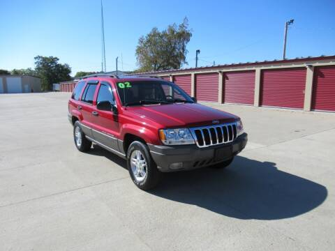 2002 Jeep Grand Cherokee for sale at Perfection Auto Detailing & Wheels in Bloomington IL
