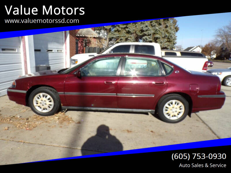 2000 Chevrolet Impala for sale at Value Motors in Watertown SD