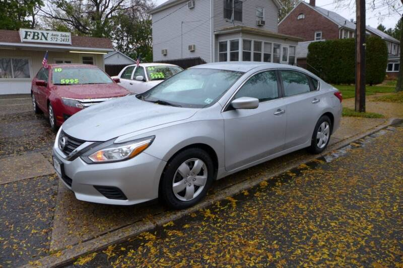 2016 Nissan Altima for sale at FBN Auto Sales & Service in Highland Park NJ