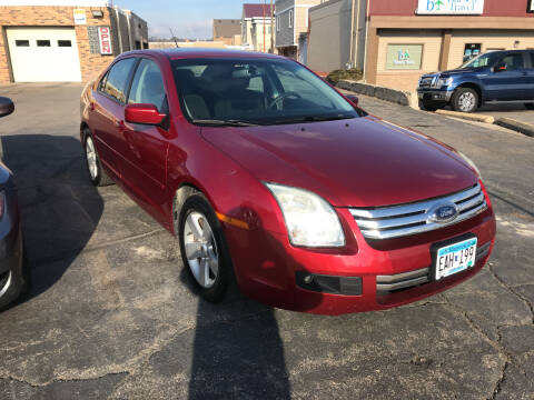 2009 Ford Fusion for sale at Carney Auto Sales in Austin MN