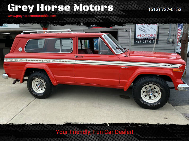 1978 Jeep Cherokee for sale at Grey Horse Motors in Hamilton OH