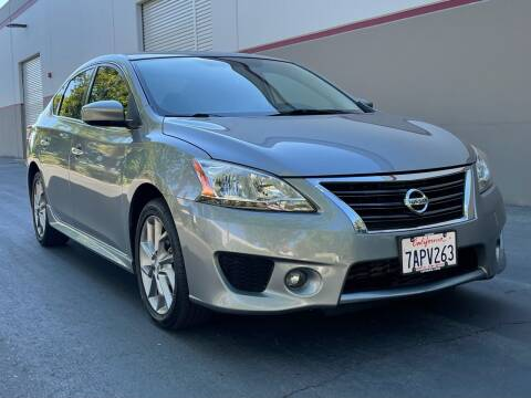 2013 Nissan Sentra for sale at COUNTY AUTO SALES in Rocklin CA