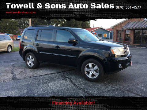 2011 Honda Pilot for sale at Towell & Sons Auto Sales in Manila AR