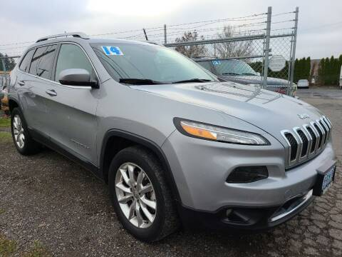 2014 Jeep Cherokee for sale at Universal Auto Sales in Salem OR