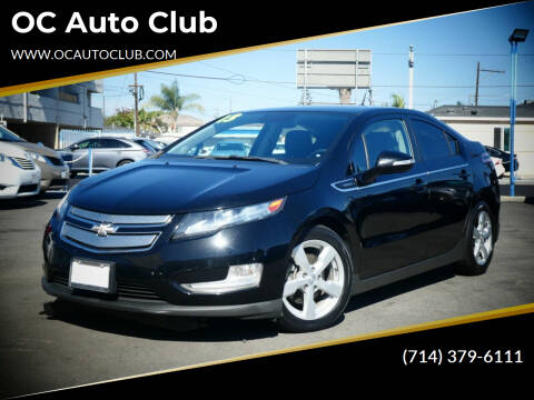 2013 Chevrolet Volt for sale at OC Auto Club in Midway City CA