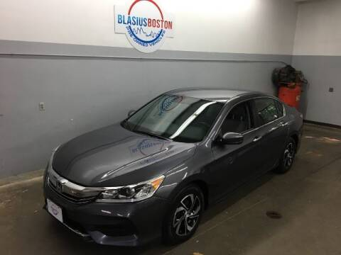 2017 Honda Accord for sale at WCG Enterprises in Holliston MA