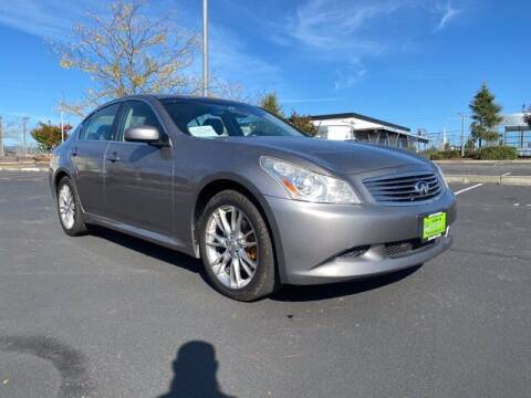 2008 Infiniti G35 for sale at Sunset Auto Wholesale in Tacoma WA