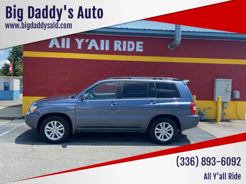 2006 Toyota Highlander Hybrid for sale at Big Daddy's Auto in Winston-Salem NC