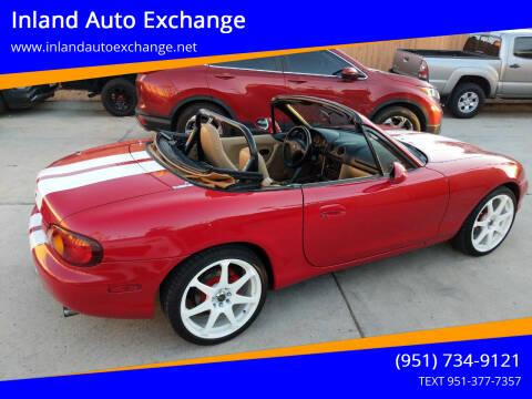 1999 Mazda MX-5 Miata for sale at Inland Auto Exchange in Norco CA