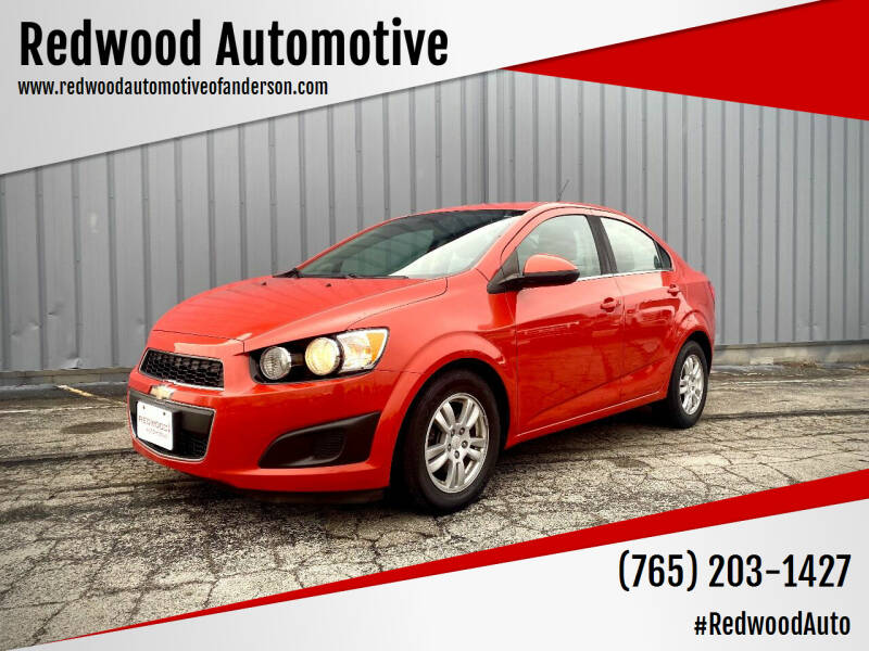 2013 Chevrolet Sonic for sale at Redwood Automotive in Anderson IN