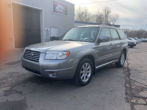 2007 Subaru Forester for sale at Manchester Auto Sales in Manchester CT