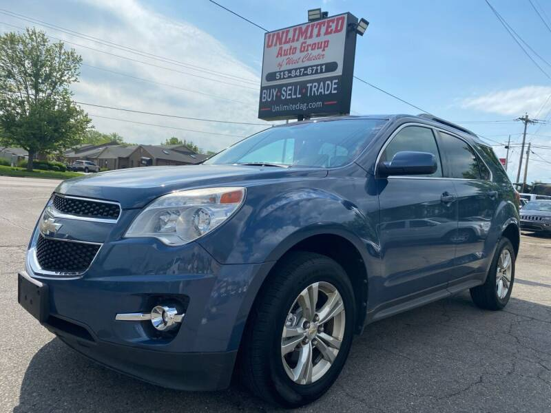 2011 Chevrolet Equinox for sale at Unlimited Auto Group in West Chester OH