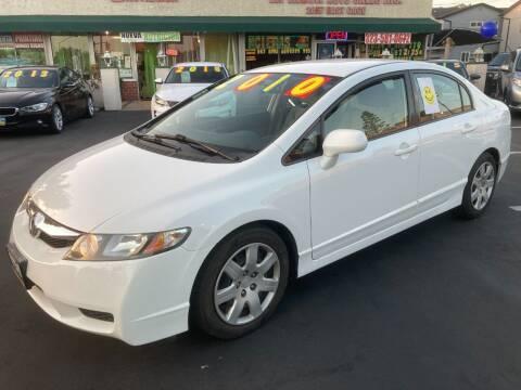 2010 Honda Civic for sale at La Mesa Auto Sales in Huntington Park CA