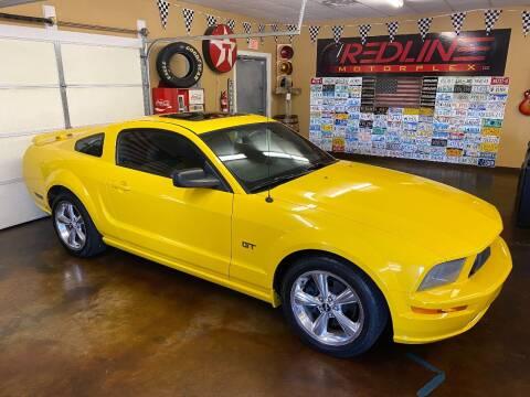 2006 Ford Mustang for sale at Redline Motorplex,LLC in Gallatin TN