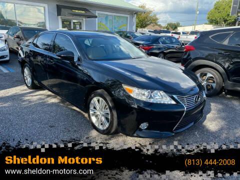 2015 Lexus ES 350 for sale at Sheldon Motors in Tampa FL