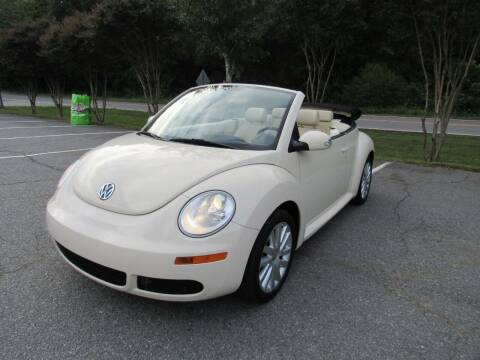 2008 Volkswagen New Beetle Convertible for sale at Pristine Auto Sales in Monroe NC