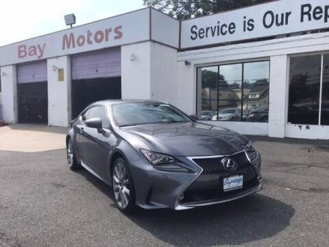 2016 Lexus RC 300 for sale at Bay Motors Inc in Baltimore MD