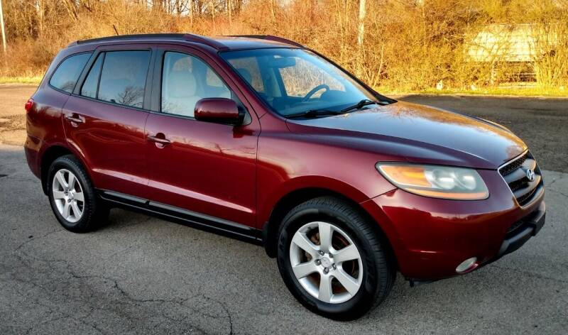 2008 Hyundai Santa Fe for sale at Angelo's Auto Sales in Lowellville OH