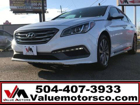 2017 Hyundai Sonata for sale at Value Motors Company in Marrero LA