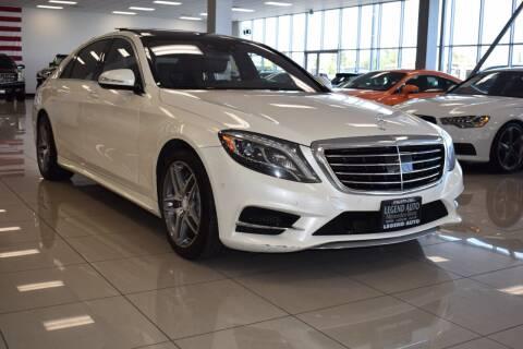2014 Mercedes-Benz S-Class for sale at Legend Auto in Sacramento CA