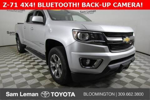 2016 Chevrolet Colorado for sale at Sam Leman Toyota Bloomington in Bloomington IL
