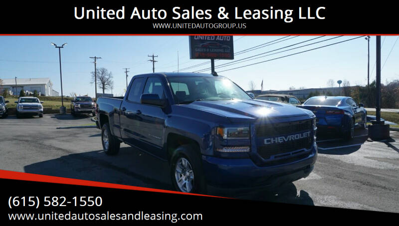 2016 Chevrolet Silverado 1500 for sale at United Auto Sales & Leasing LLC in La Vergne TN