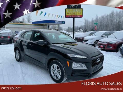 2020 Hyundai Kona for sale at FLORIS AUTO SALES in Anchorage AK