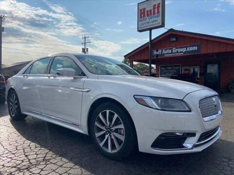 2018 Lincoln Continental for sale at HUFF AUTO GROUP in Jackson MI