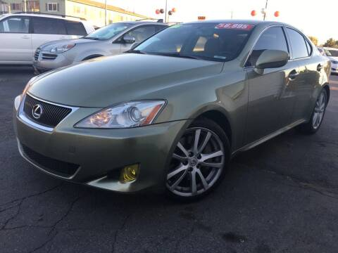 2006 Lexus IS 350 for sale at PLANET AUTO SALES in Lindon UT