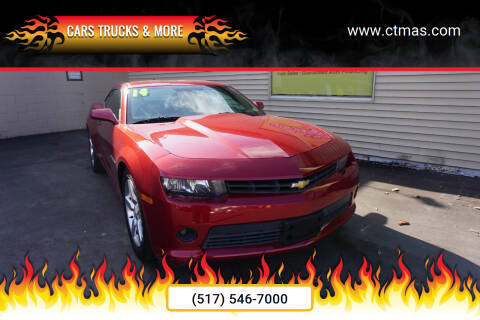 2014 Chevrolet Camaro for sale at Cars Trucks & More in Howell MI