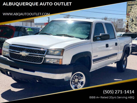 2004 Chevrolet Silverado 2500HD for sale at ALBUQUERQUE AUTO OUTLET in Albuquerque NM