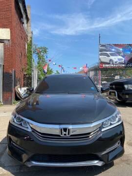 2017 Honda Accord for sale at Simon Auto Group in Newark NJ