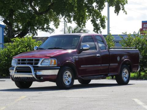 1997 Ford F-150 for sale at DK Auto Sales in Hollywood FL