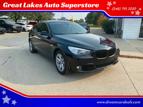 2013 BMW 5 Series for sale at Great Lakes Auto Superstore in Waterford Township MI