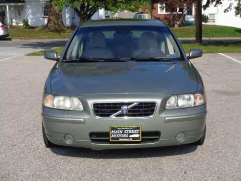 2006 Volvo S60 for sale at MAIN STREET MOTORS in Norristown PA