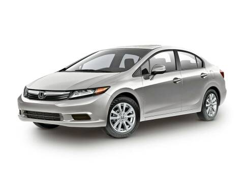 2012 Honda Civic for sale at BASNEY HONDA in Mishawaka IN