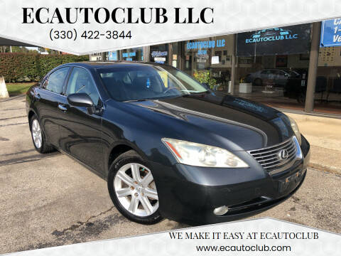 2008 Lexus ES 350 for sale at ECAUTOCLUB LLC in Kent OH