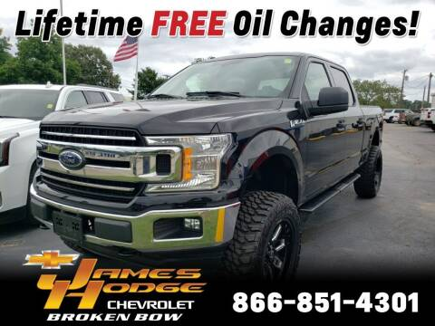 2018 Ford F-150 for sale at James Hodge Chevrolet of Broken Bow in Broken Bow OK
