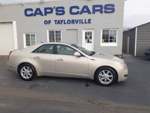 2008 Cadillac CTS for sale at Caps Cars Of Taylorville in Taylorville IL