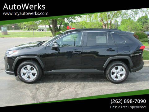 2020 Toyota RAV4 for sale at AutoWerks in Sturtevant WI