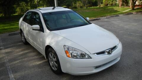 2005 Honda Accord for sale at Sunshine Auto Sales in Oakland Park FL