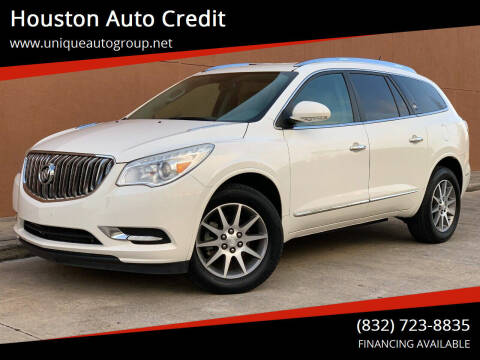 2014 Buick Enclave for sale at Houston Auto Credit in Houston TX