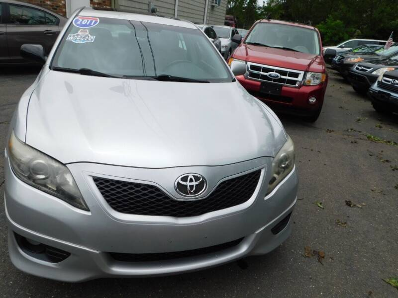 2011 Toyota Camry for sale at CAR CORNER RETAIL SALES in Manchester CT