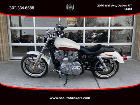 2012 Harley-Davidson XL883L Sportster SuperLow for sale at S S Auto Brokers in Ogden UT