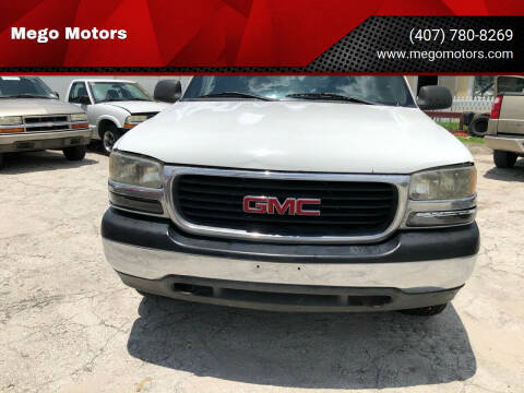 2001 GMC Sierra 1500 for sale at Mego Motors in Orlando FL