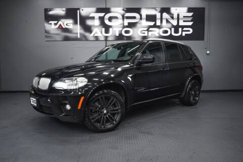 2012 BMW X5 for sale at TOPLINE AUTO GROUP in Kent WA