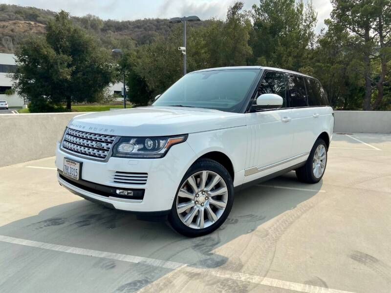 2014 Land Rover Range Rover for sale at Allen Motors, Inc. in Thousand Oaks CA