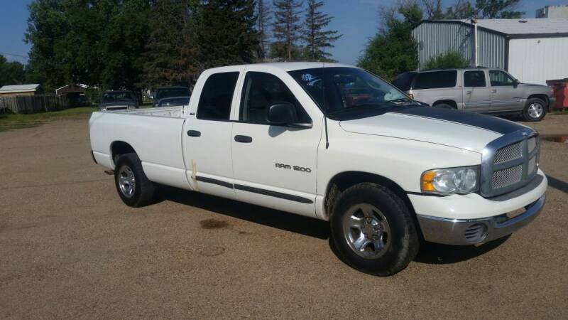 2002 Dodge Ram Pickup 1500 for sale at Ron Lowman Motors Minot in Minot ND