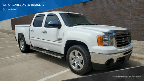 2010 GMC Sierra 1500 for sale at AFFORDABLE AUTO BROKERS in Keller TX
